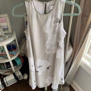 Calvin Klein flower dress!